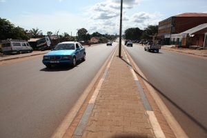 Avenue in Bissau
