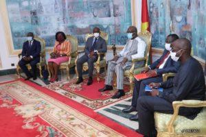 Audience auprès de Son Excellence Monsieur Roch Marc Christian KABORE, Président du Faso