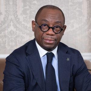 Mr Serge EKUE, Président de la BOAD