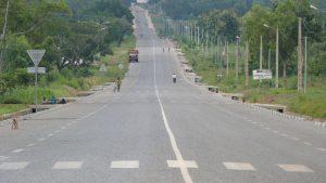 Route Djougou -Ouake