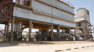 Diamond Cement factory in Mali