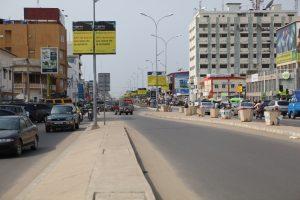 Avenue Steinmetz à Cotonou