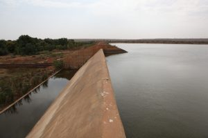 Water dam in the Tahoua area